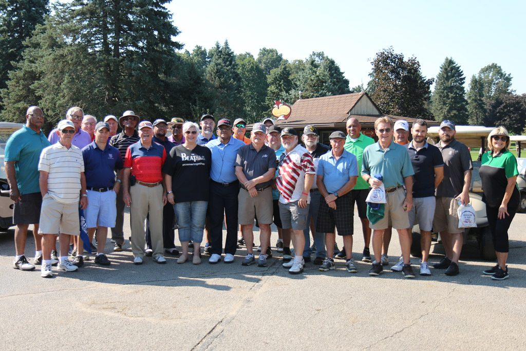 Second Annual James Seminaroti Golf Outing group photo.