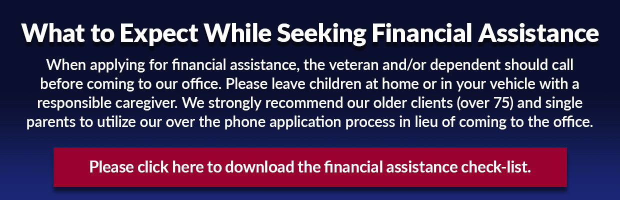 What to expect while seeking financial assistance