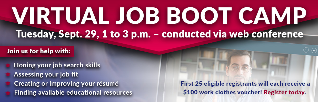 Virtual Job Bootcamp Signup
