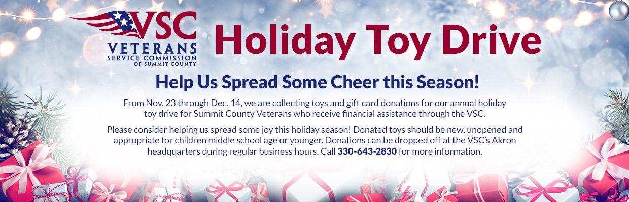 VSC 2020 Annual Toy Drive